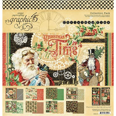 "Graphic 45 - Christmas Time kollekció (12x12"")"