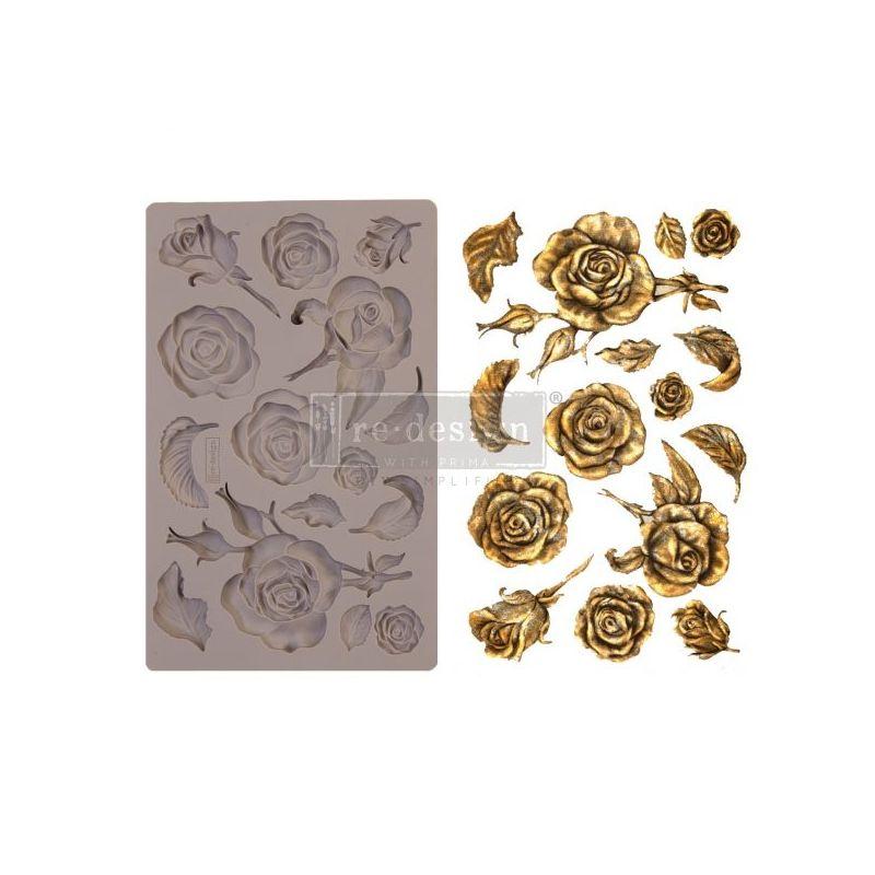 Szilikon öntőforma - Redesign Mould - Fragrant Roses