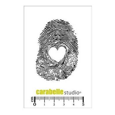 Carabelle gumibélyegző - Empreinte Coeur