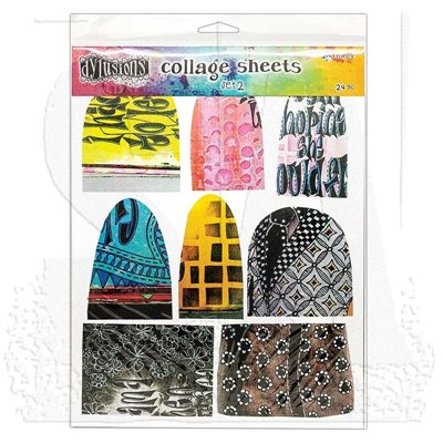 Dylusions Collage Sheets Set des.2