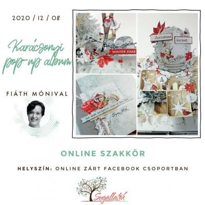 Karácsonyi pop-up album - ONLINE SZAKKÖR
