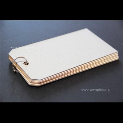 Tagbook 8x15,5 cm