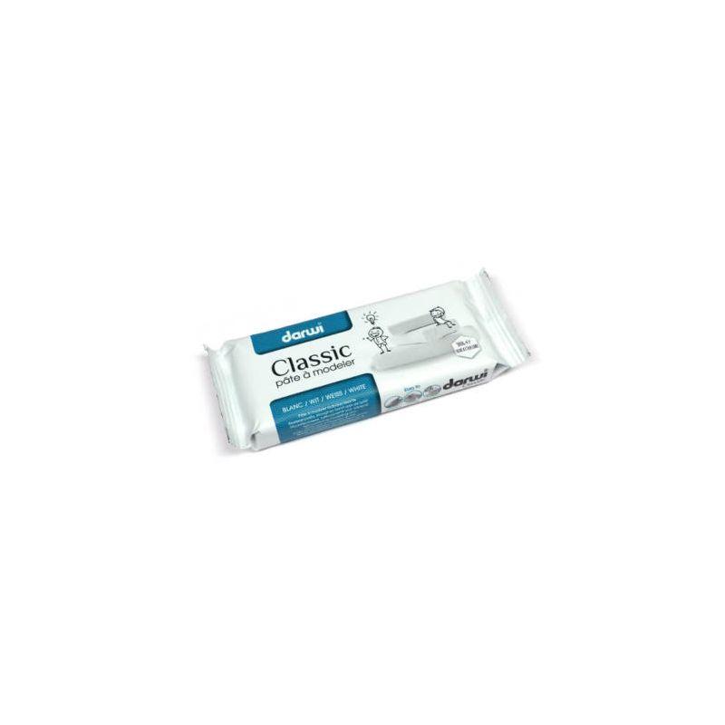 Darwi Classic levegőn száradó gyurma, 500 g - fehér