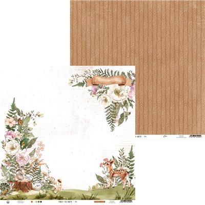 """Forest Tea Party - 12""""-es maxi kollekció (12 db 2 oldalas papír + 2 db kivágóív)"""