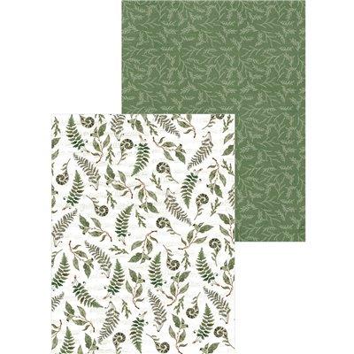 """Forest Tea Party - 6x8""""-es kollekció (24 db 2 oldalas papír + 2 db kivágóív)"""