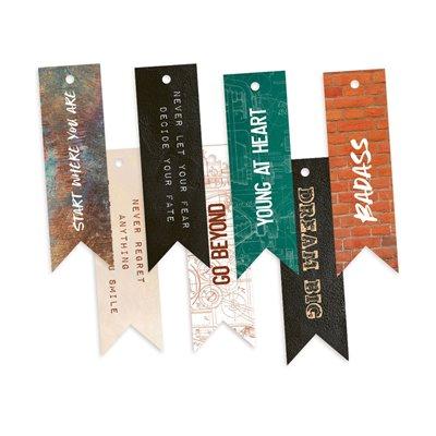 Free Spirit - dekorációs címkék 02 - 7 db