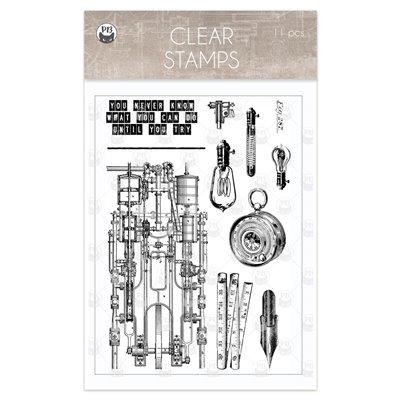 Free Spirit - polimer bélyegző 01 (10,5 x 14,8cm)