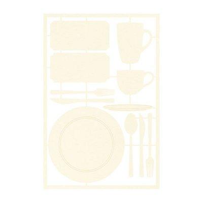 Around the Table - chipboard szett 01