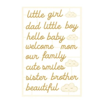 Baby Joy - chipboard szett 06