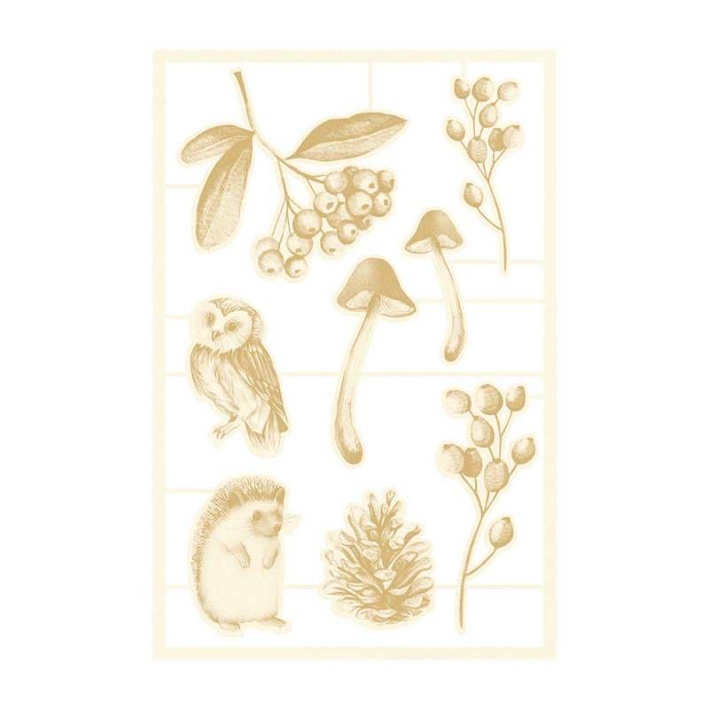 The Four Seasons - Autumn - chipboard szett 02