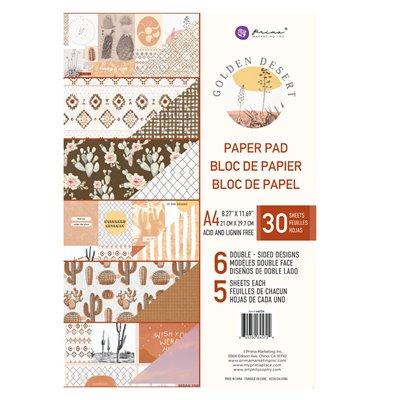 Golden Desert kollekció A4 paper pad – 27 lap