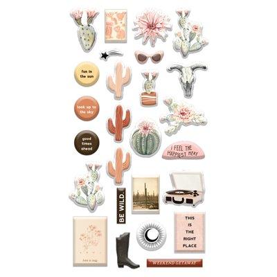 Golden Desert kollekció - Puffy Stickers 26db