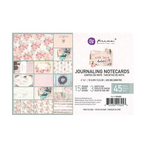 """With Love kollekció 4x6"""" Journaling Cards - 4x6"""" , 45 lap"""
