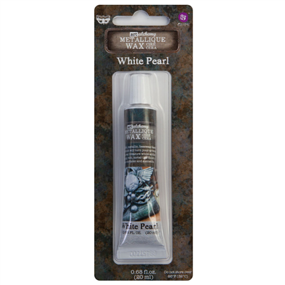 Art Alchemy - Metallique Wax - White Pearl