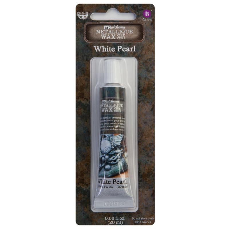 Art Alchemy - Metallique Wax - White Pearl