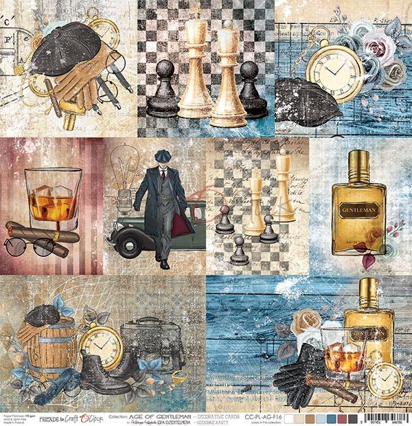 Age Of Gentleman - kártyák kivágóív