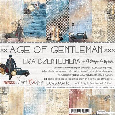 Age Of Gentleman - papírkészlet 20,3 x 20,3 cm