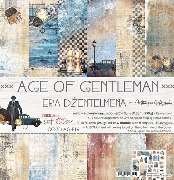 Age Of Gentleman - papírkészlet 30,5x30,5cm