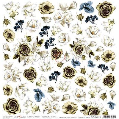 Flowers - XXIV kivágóív