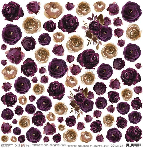 Flowers - XXV kivágóív