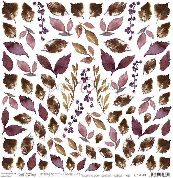 Leaves - XIII kivágóív