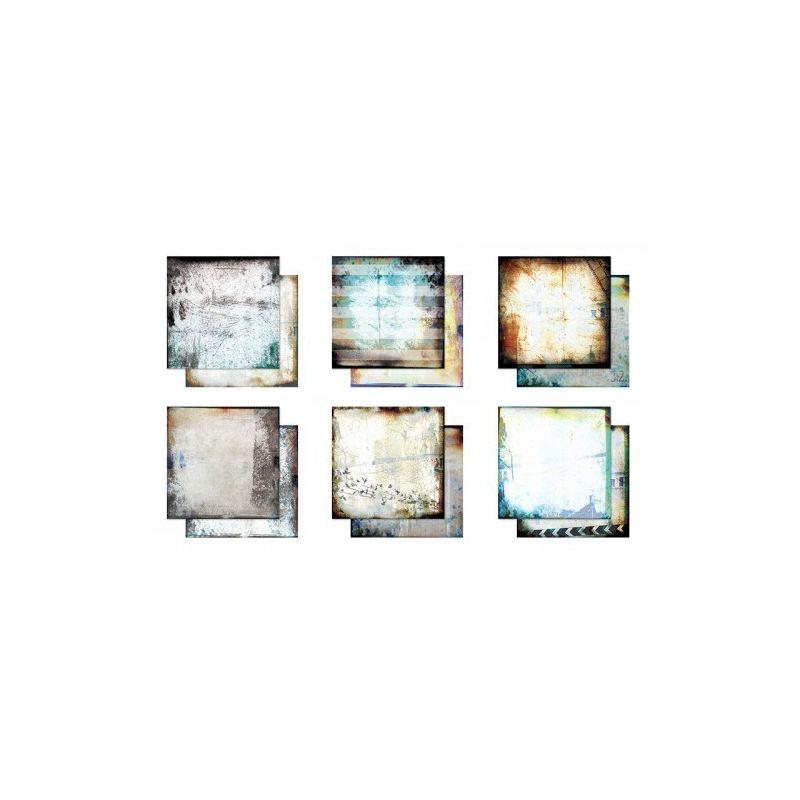 Hazy Days mini kollekció -  6 db 12x12-es papír