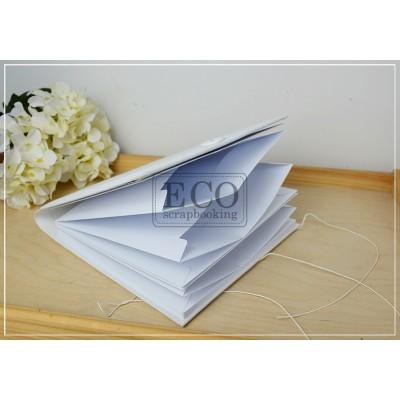 Borítékalbum - fehér (17x17 cm)