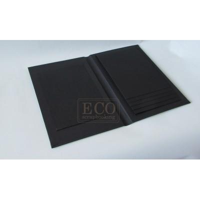 Vízesés album - fekete (15x23 cm)