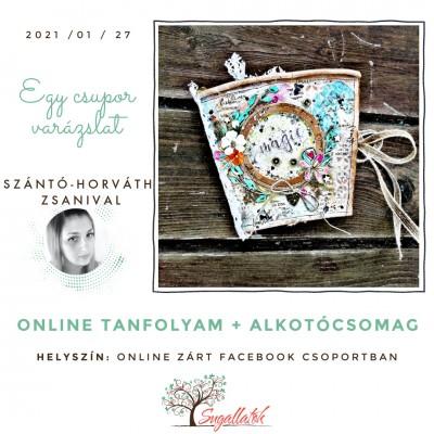 Egy csupor varázslat - kávéspohár album - ONLINE SZAKKÖR + ALKOTÓCSOMAG