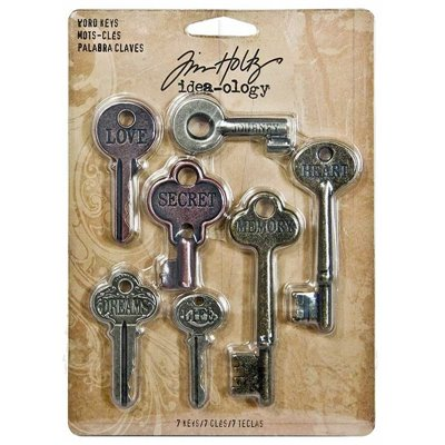 Idea-ology - Tim Holtz Word Keys (7 db)