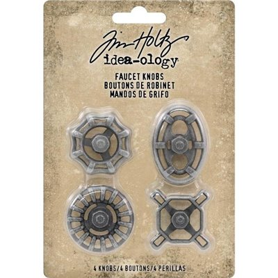 Idea-ology - Tim Holtz Faucet Knobs(4 db)