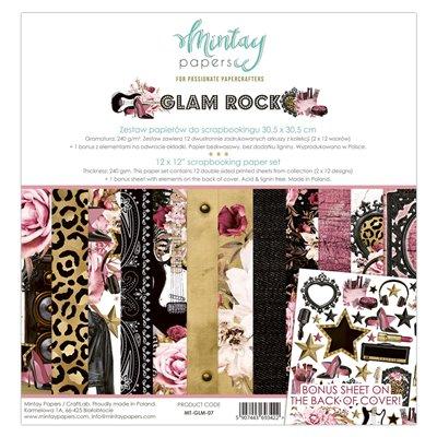 Glam Rock - 12'x12'-es maxi kollekció
