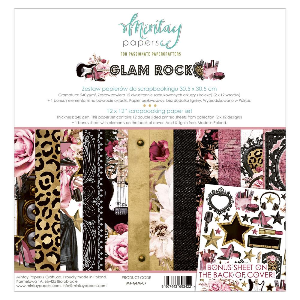 Glam Rock - 12\'x12\'-es mini kollekció