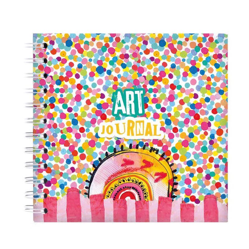 Art By Marlene - Confetti - Art Journal des.12
