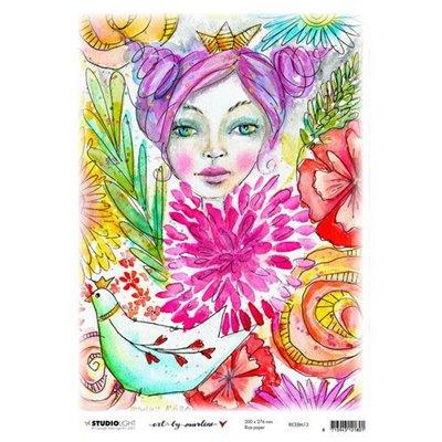 Art by Marlene nr.13 A4-es rizspapír