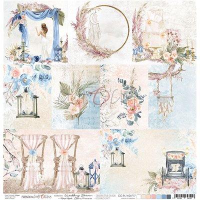 Wedding Dream - kártyák kivágóív