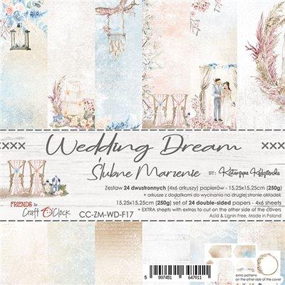 Wedding Dream - papírkészlet 15,25 x 15,25 cm