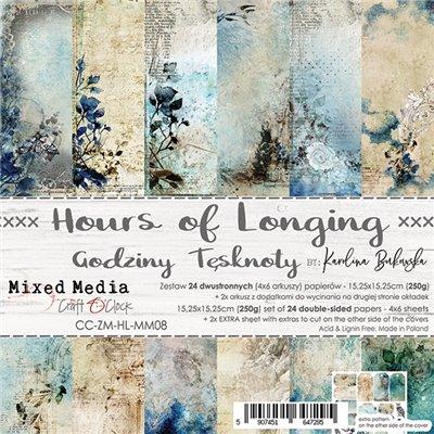 Hours of Longing - papírkészlet 15,25 x 15,25 cm