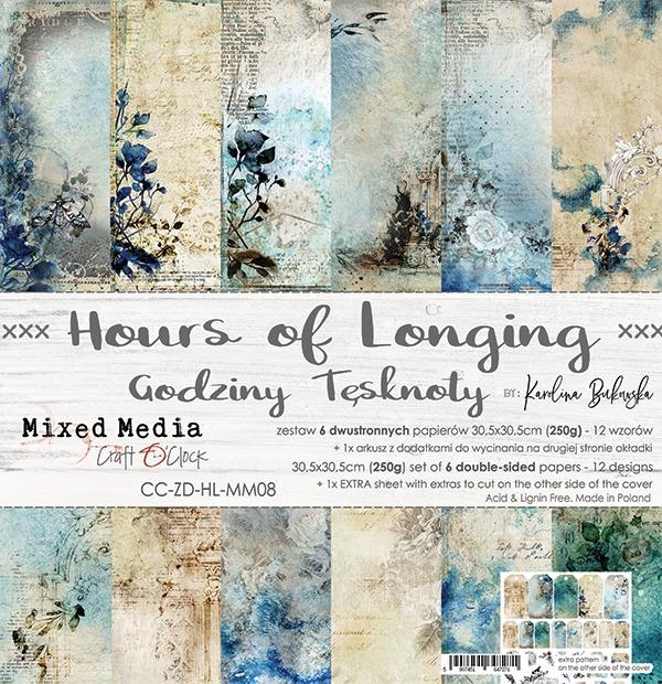 Hours of Longing - papírkészlet 30,5x30,5cm