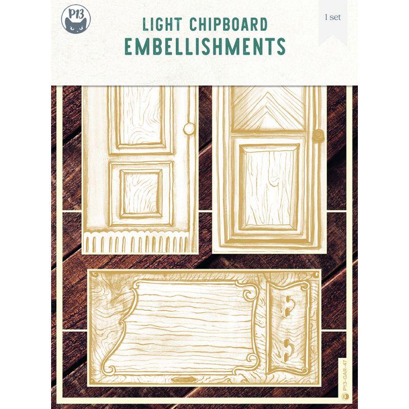 Garden of Books - chipboard szett 05