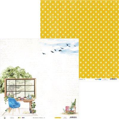 """Garden of Books - 12""""-es maxi kollekció (12 db 2 oldalas papír + 2 db kivágóív)"""