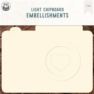Chipboard alap - Fényképezőgép