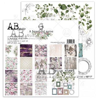 """A Beautiful Noise 12""""-es scrapbook papír kollekció"""