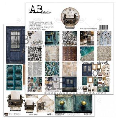 "Old dreams 12""-es scrapbook papír kollekció"