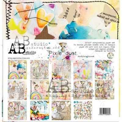 """Pixie Dust TandiArt 12""""-es scrapbook papír kollekció"""