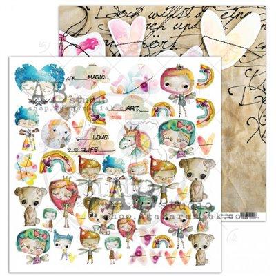 "Pixie Dust ""Fairy love""- sheet 7"