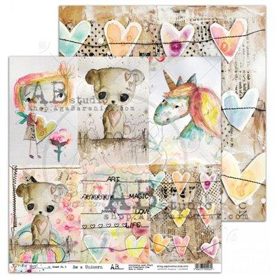 "Pixie Dust ""Be a unicorn"" - sheet 5"
