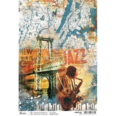 Rizspapír A4 - Jazz
