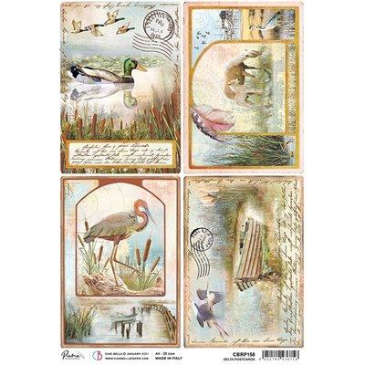 Rizspapír A4 - Delta postcards