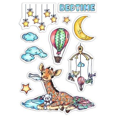 """Szilikonbélyegző szett 4""""x6""""- Bedtime"""